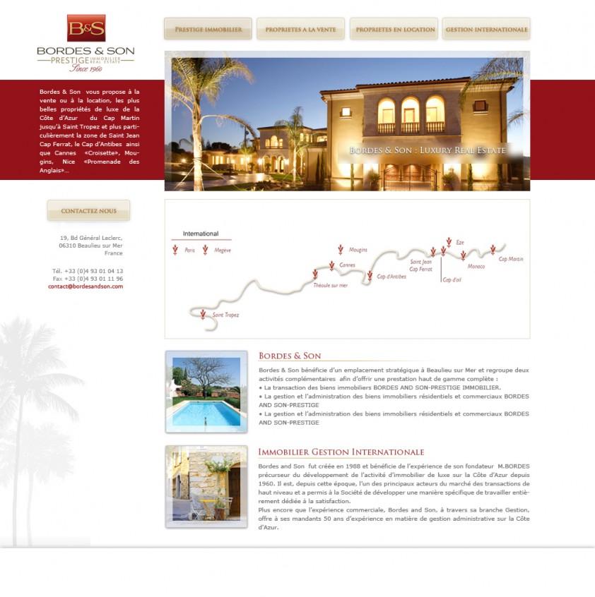 cccafdb5ee02a2 Création site internet agence immobilière   Blog d un webdesigner ...