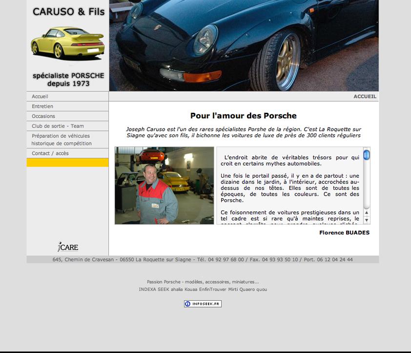 Relooking site internet automobile blog d 39 un webdesigner for Blog relooking