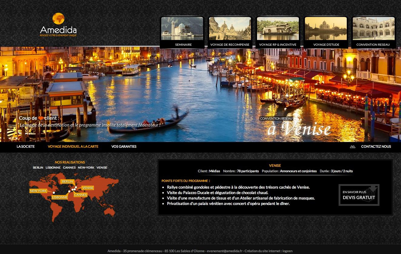 Création site internet évenementiel | Blog d'un